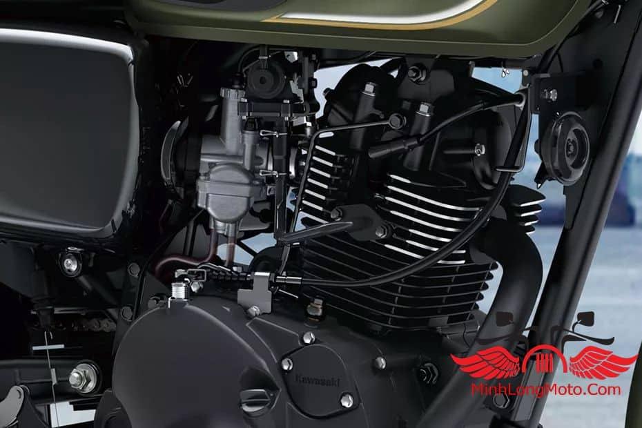 Động cơ xe Kawasaki W175 SE 2019