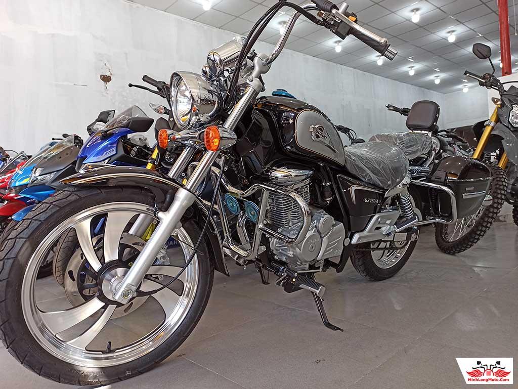 Xe Suzuki GZ 150A đã trở lại.