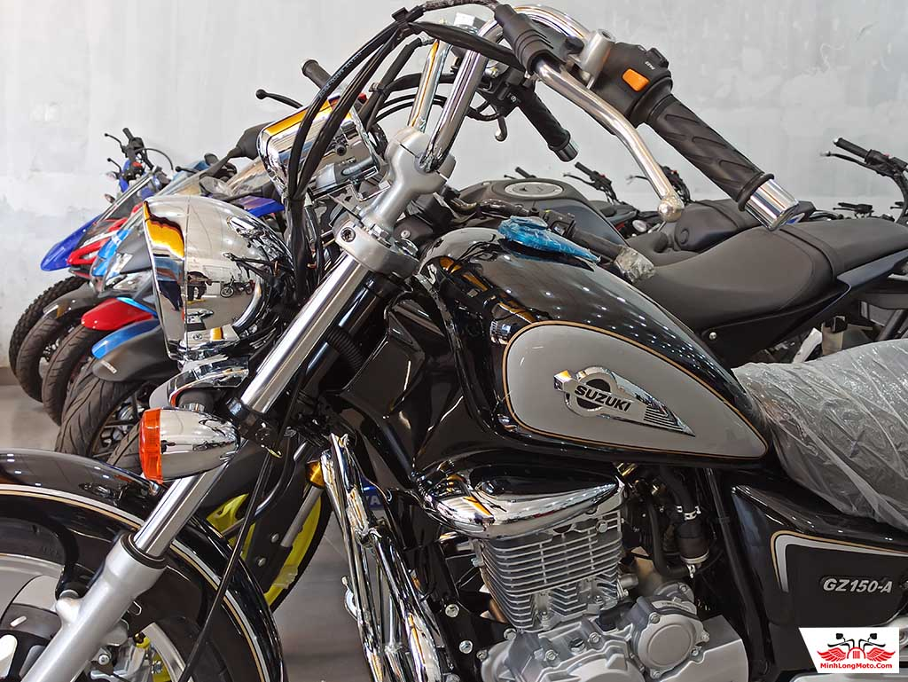 xe moto Suzuki GZ150A