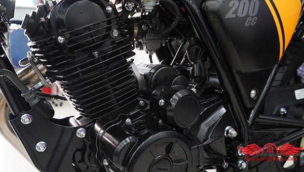 Động cơ của xe Legend 200