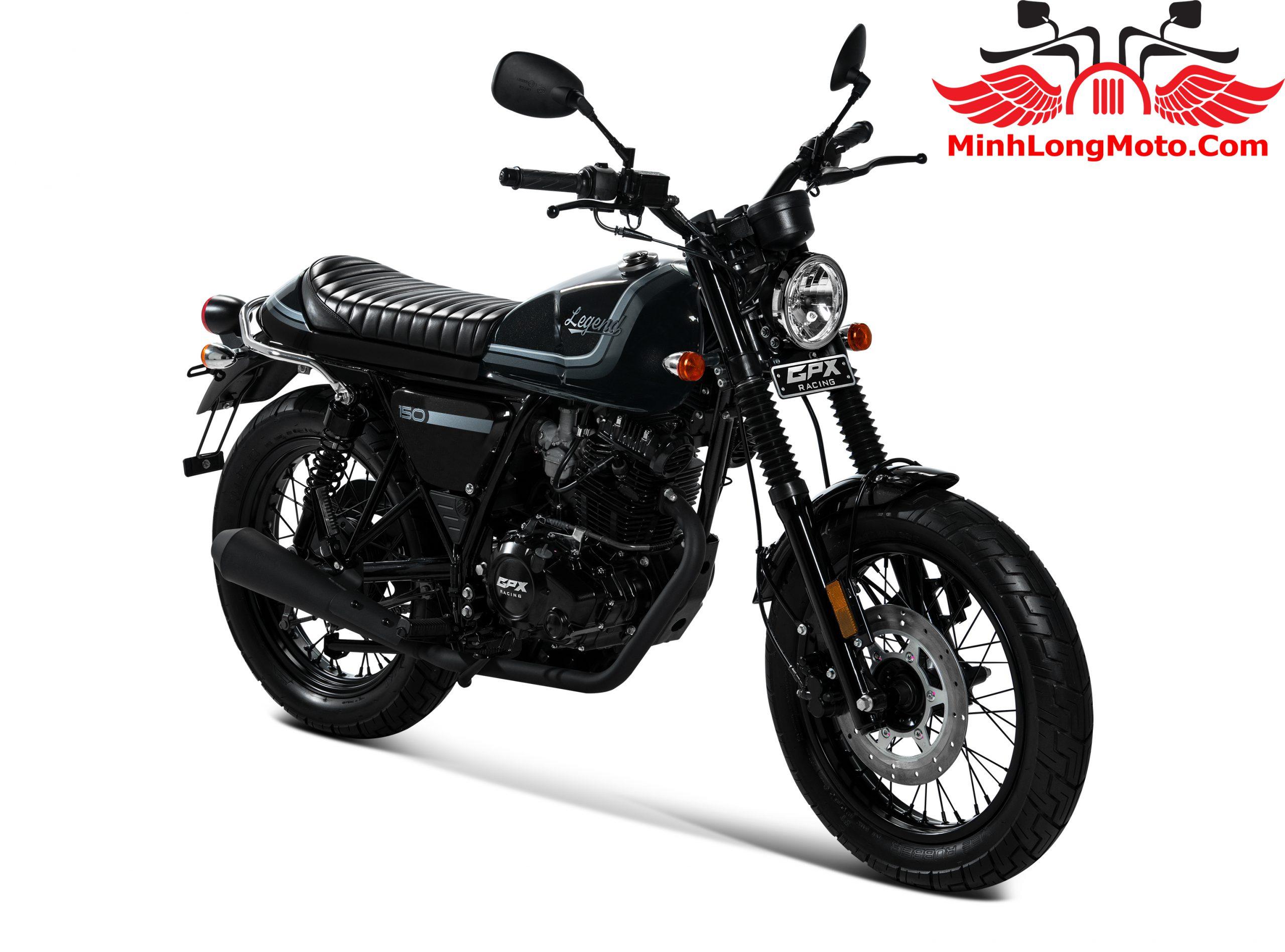 GPX Legend 150 màu đen