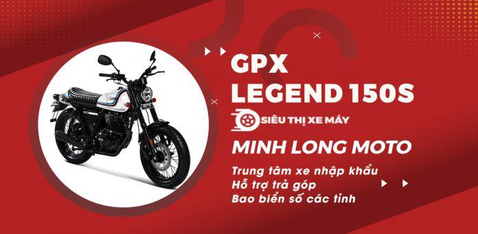 GPX Legend 150 phiên bản mới