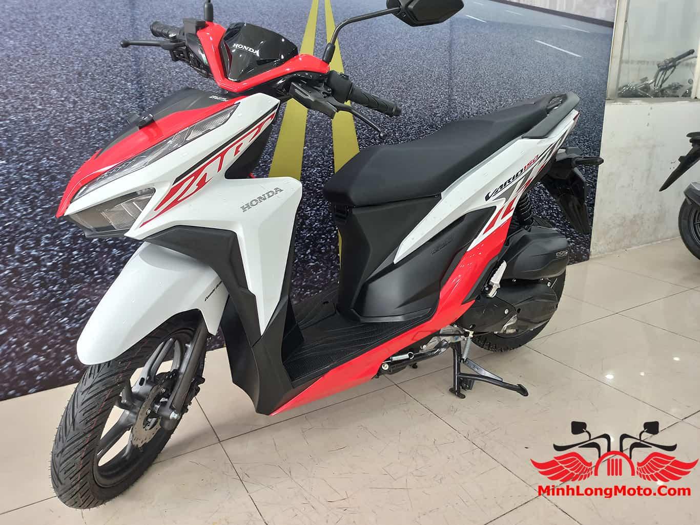 Giá xe Vario 150cc 2021 trắng đỏ