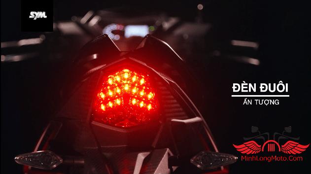 SYM Star SR 170cc đèn hậu
