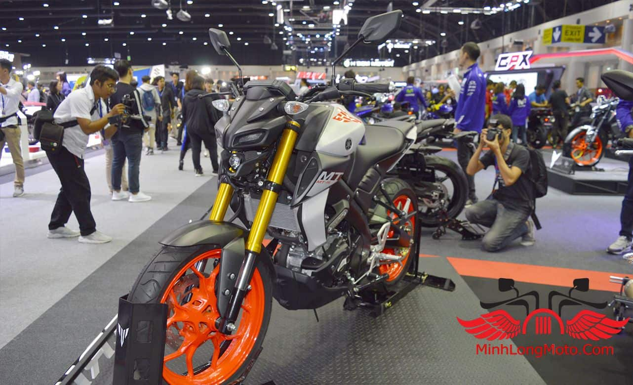 Mẫu xe Yamaha MT15 2019 được ra mắt.