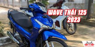 Honda Wave 125i Thái