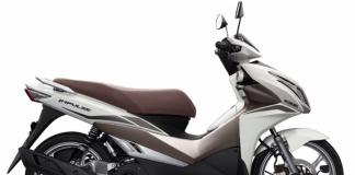 Màu xám trắng của Suzuki Impulse 125