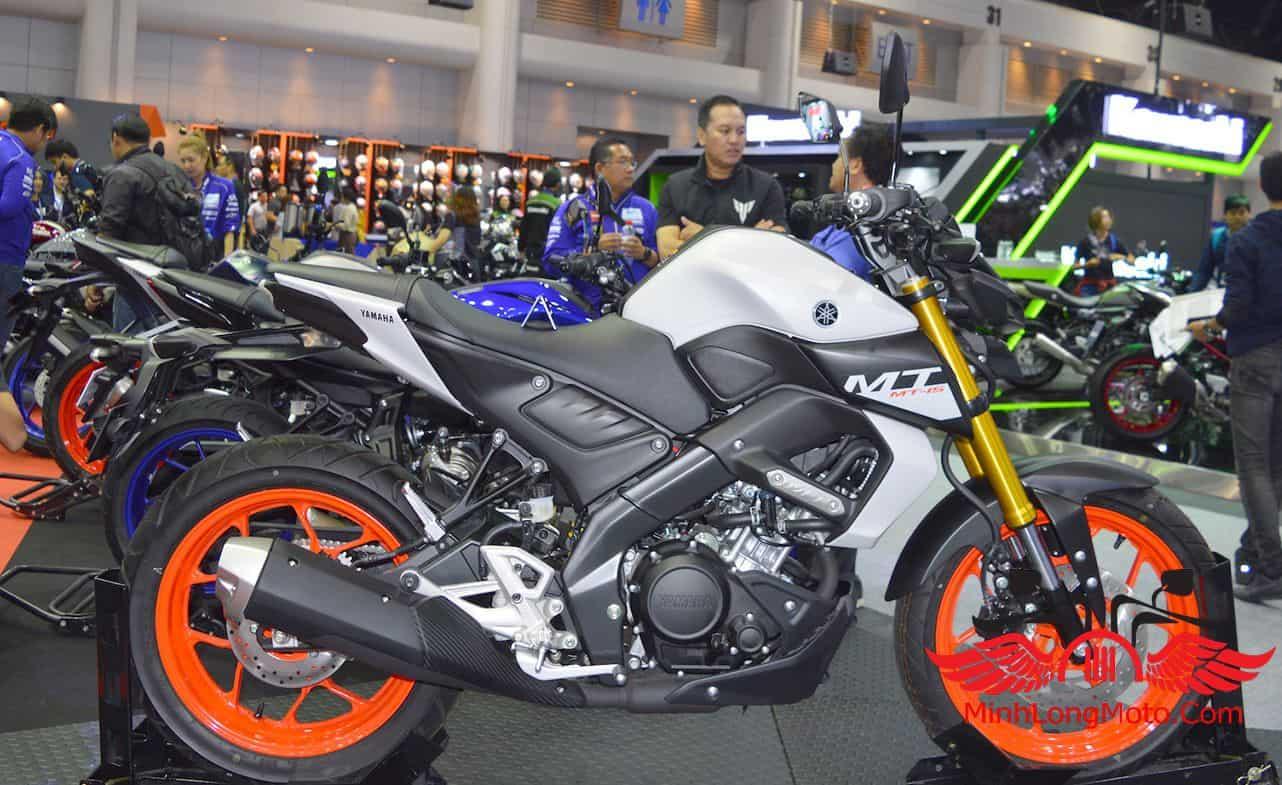 Vẻ đẹp thể thao của Yamaha MT15.