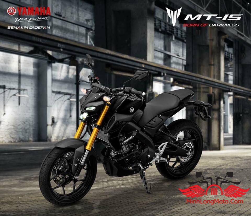 MT15 màu đen bóng 2020