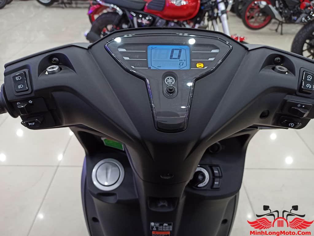 Đồng hồ kĩ thuật số của Yamaha FreeGo.