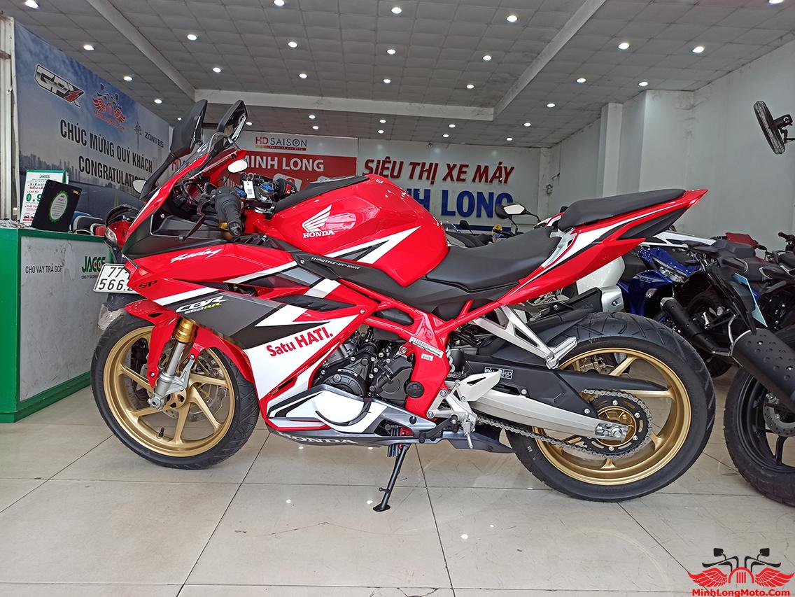 CBR 250 ABS màu trắng đỏ racing