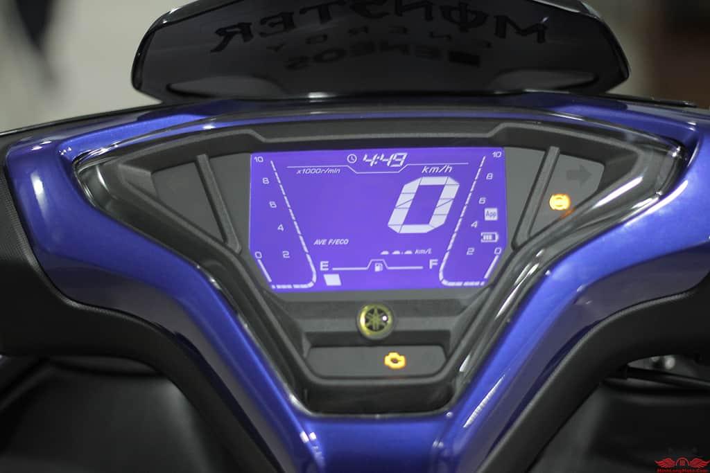Đồng hồ hiển thị Yamaha NVX 155 VVA mới