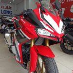 Honda CBR250RR màu trắng đỏ racing