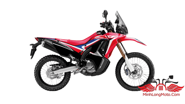 CRF 150 Rally 2019 màu đỏ đen