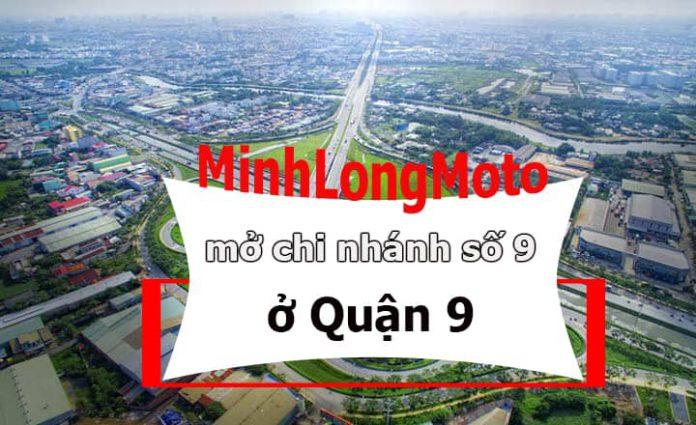 cửa hàng xe máy Minh Long ở quận 9
