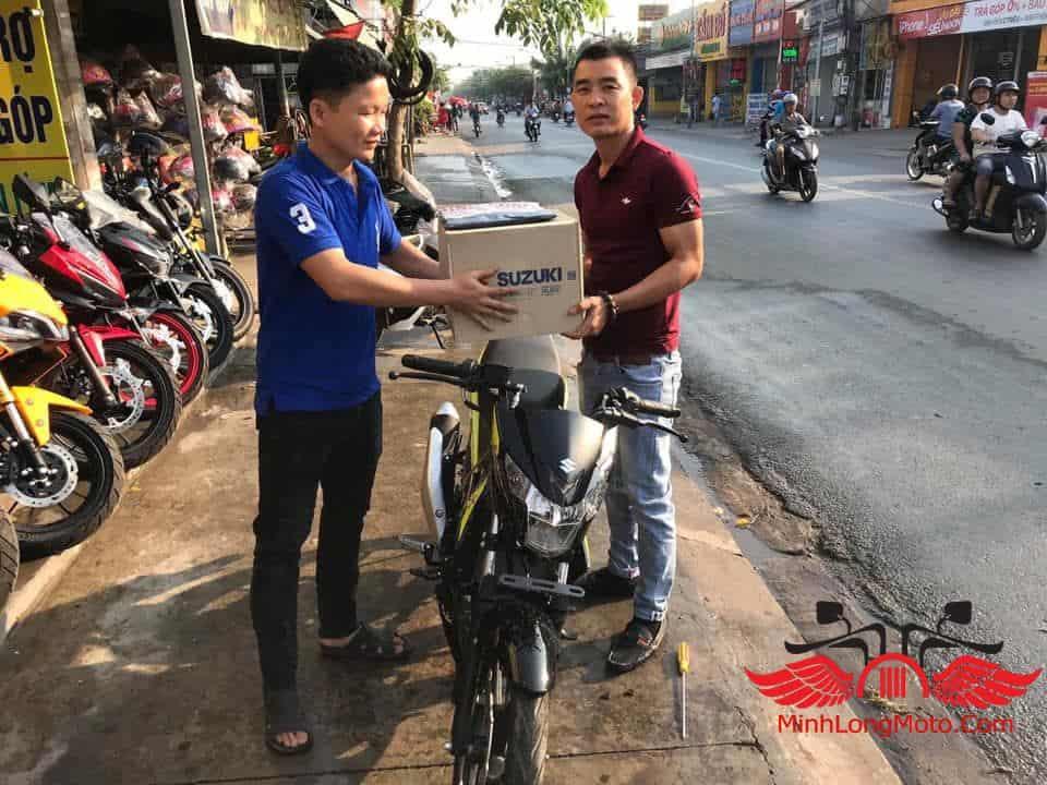 Minh Long Motor gửi trọn niềm tin đến quý khách hàng đã tin tưởng và ủng hộ Suzuki Satria F150.