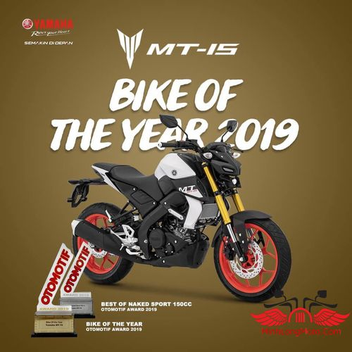 mt-15 bike of year 2019