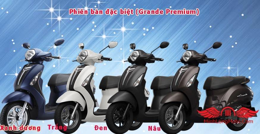 Yamaha Grande Premium có ABS