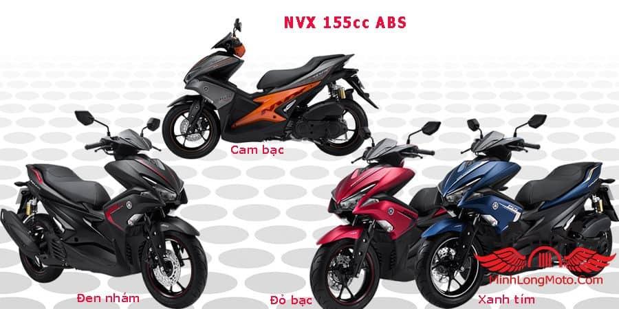 Mẫu xe Yamaha NVX 155 trang bị phanh ABS