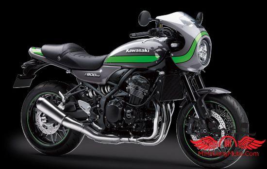 Z900 Kawasaki Cafe xanh lá