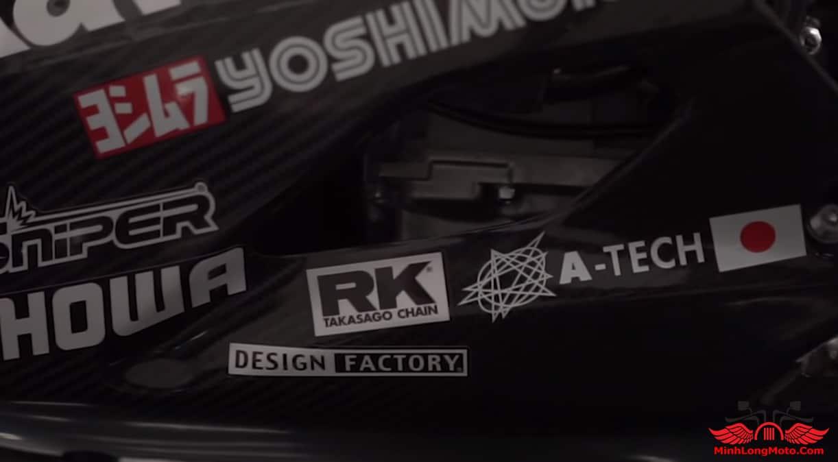Tem xe ZX25R