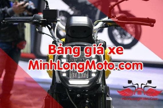 bảng giá xe nhập khẩu minh long moto
