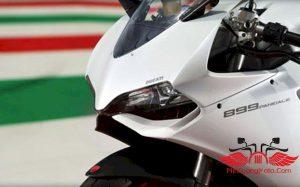 đèn led trước của moto Ducati 899