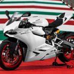 ducati 899 màu trắng độ