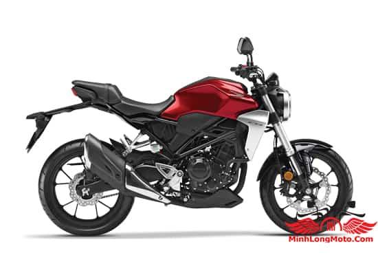 Honda CB300 màu đỏ