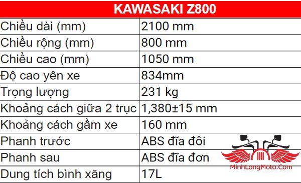 xe kawasaki z800