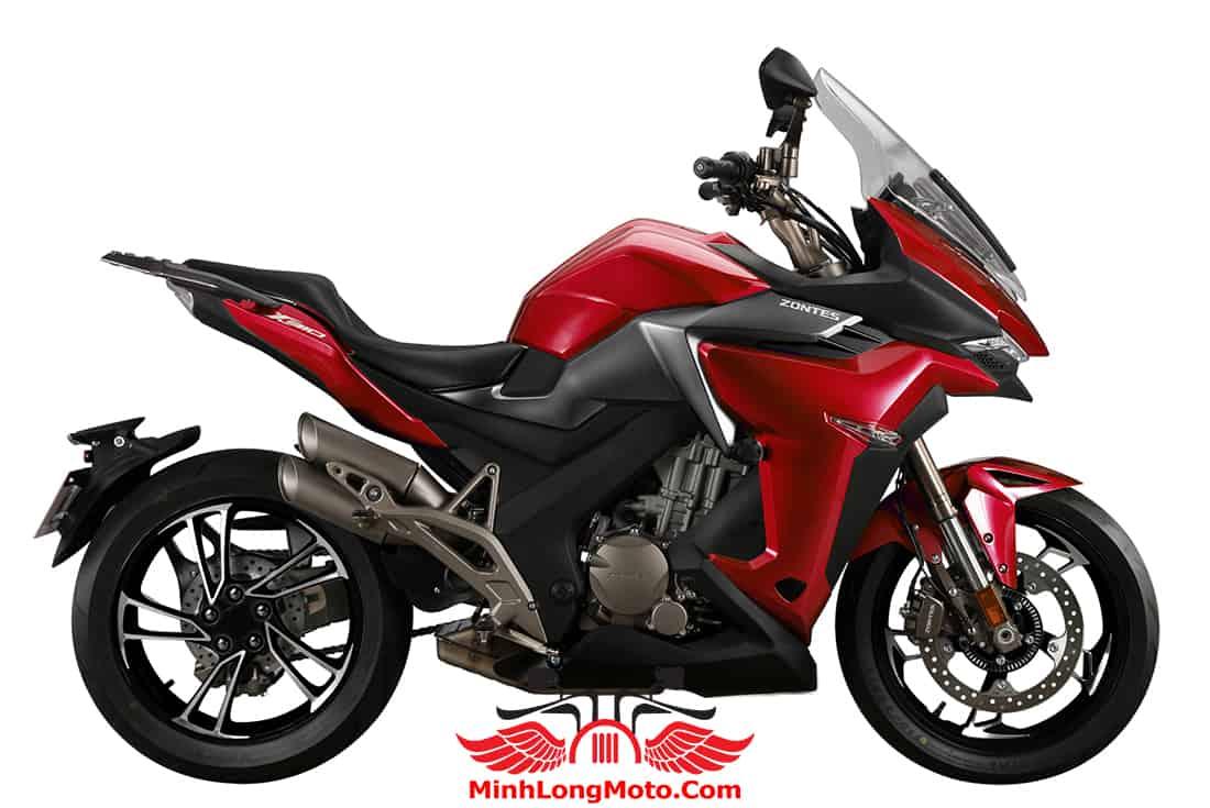 Giá Zontes 310X1 màu Đỏ Xám
