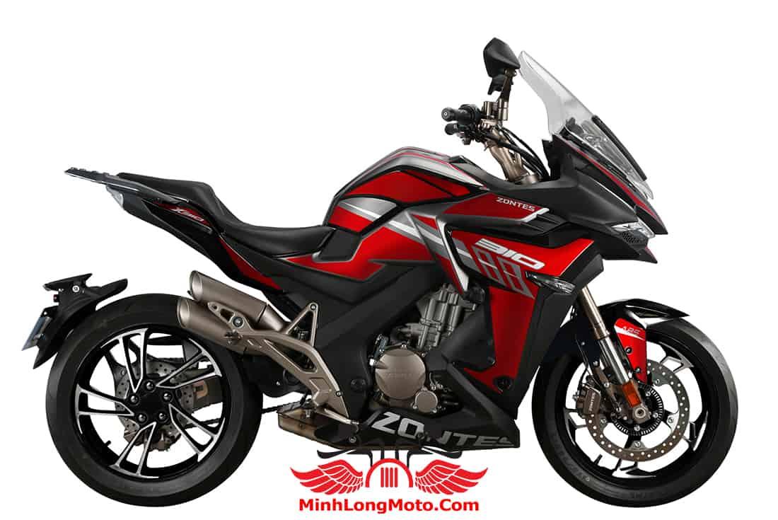 Zontes 310 X1 GP màu Đỏ Đen