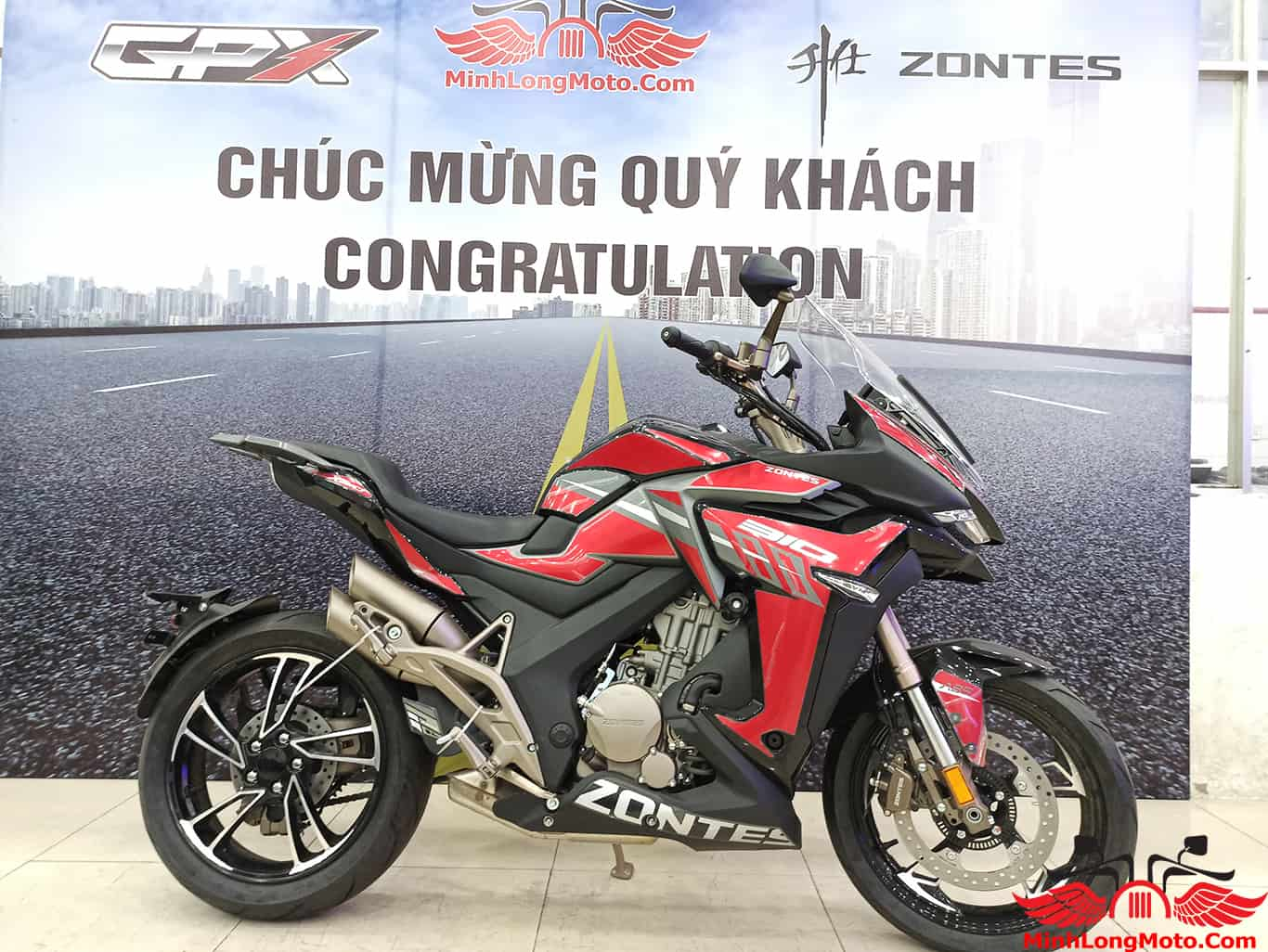Zontes 310X tại Minh Long Moto