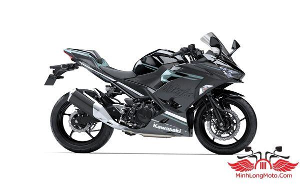 Kawasaki Ninjsja 250 đen