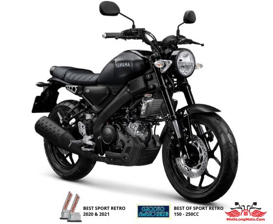 Mẫu XSR 155 màu đen