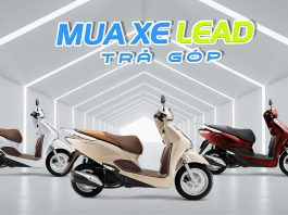 Mua xe Honda Lead trả góp 2020