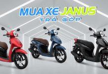 Trả góp xe Yamaha Janus 2020