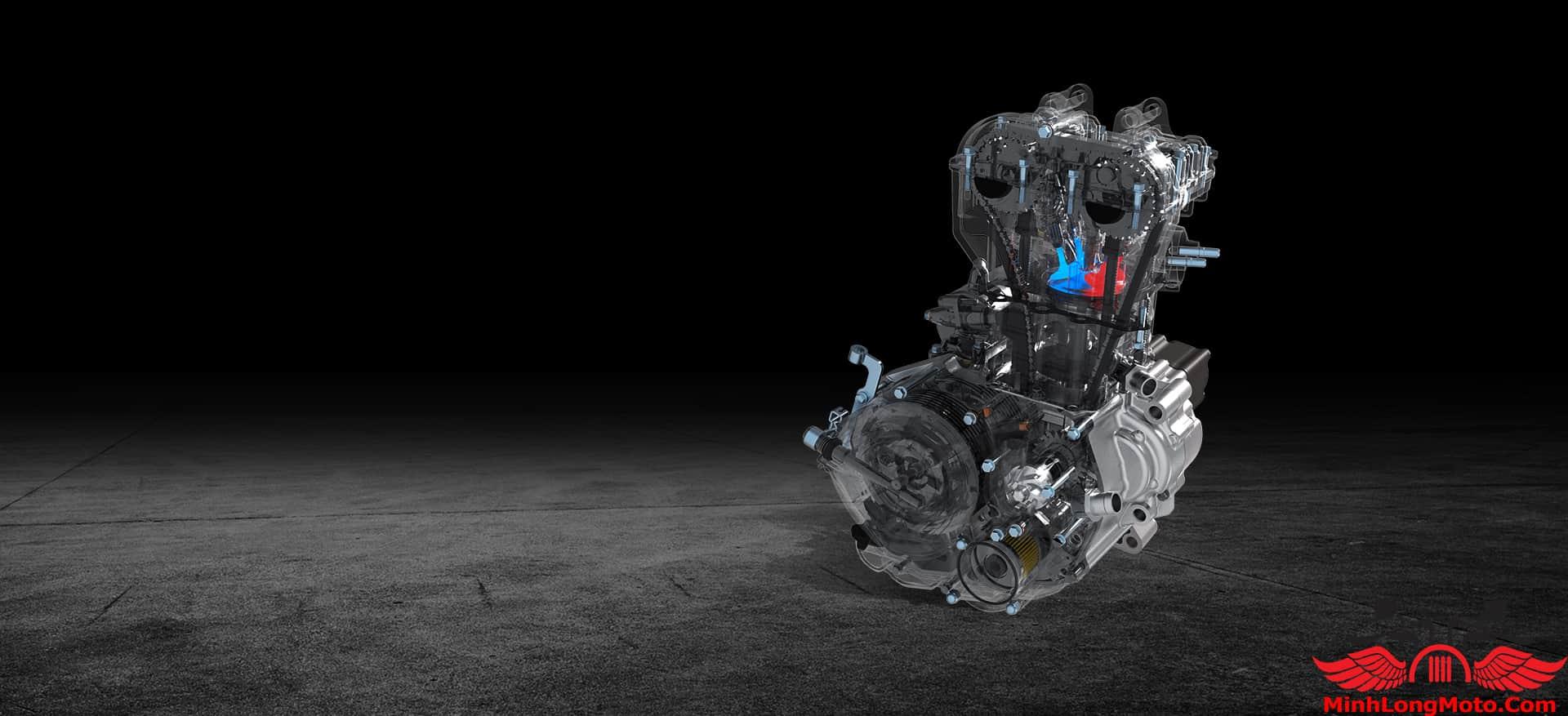 Động cơ xe Zontes 310R