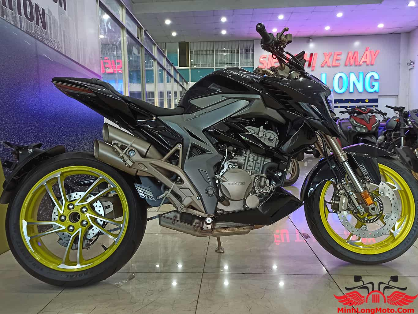 Thiết kế xe Zontes 310 R1