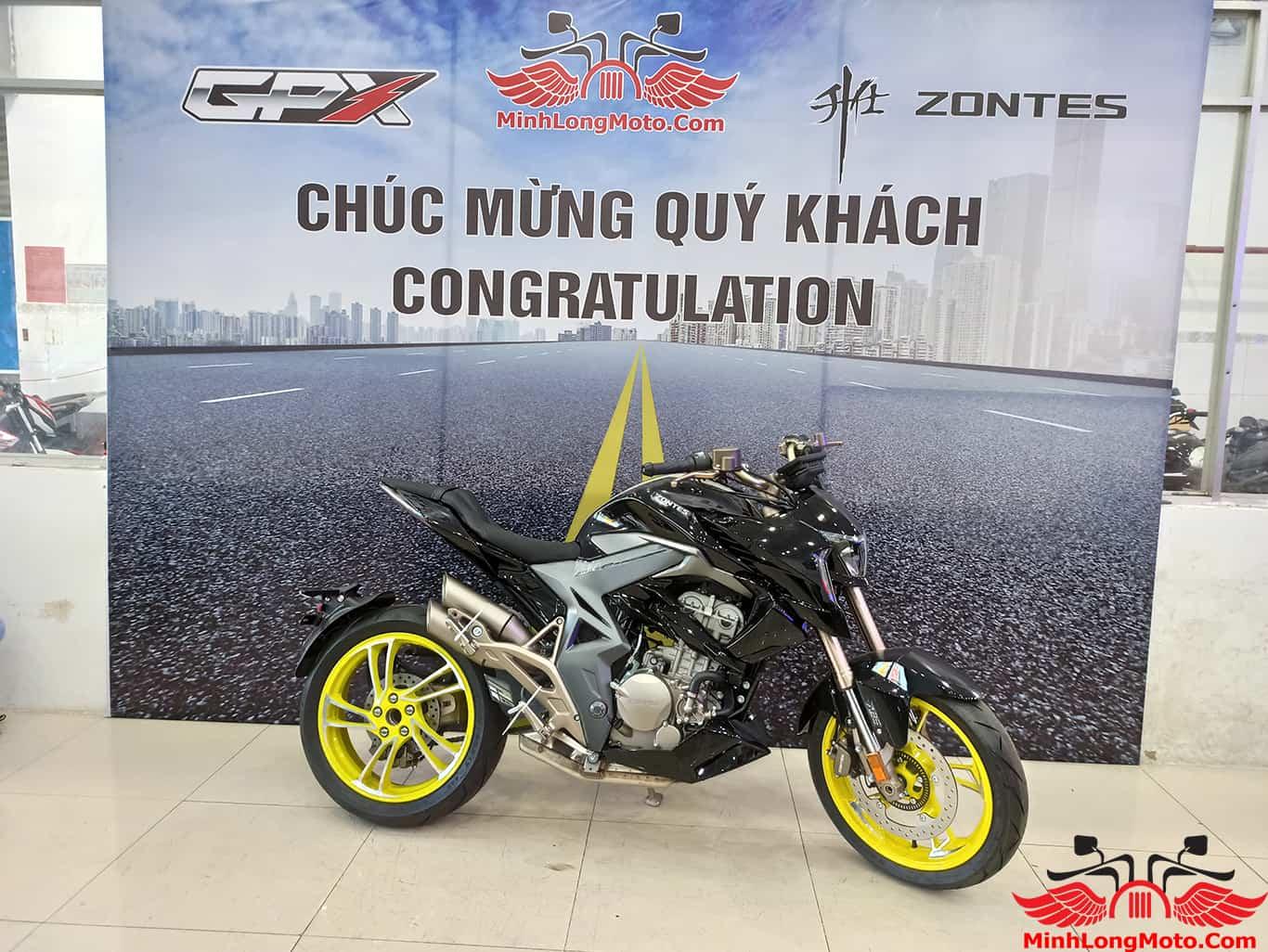 Zontes 310R tại Minh Long Motor