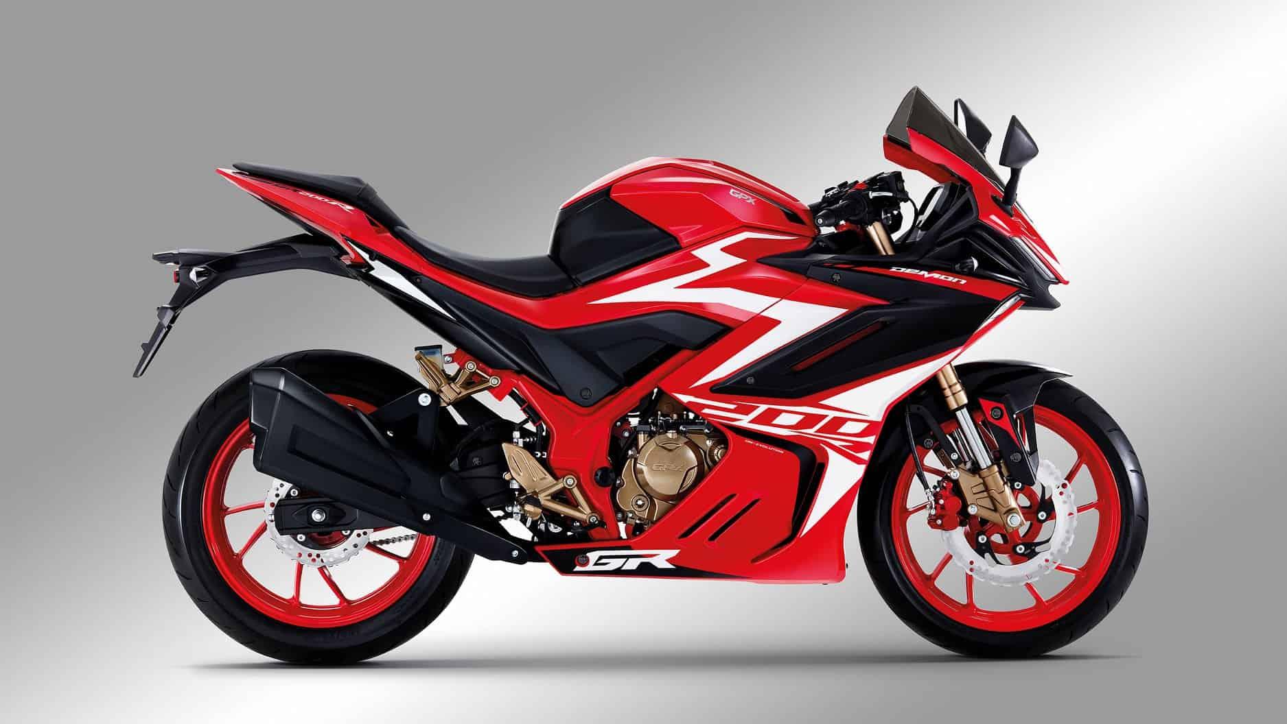 GR200R màu Đỏ
