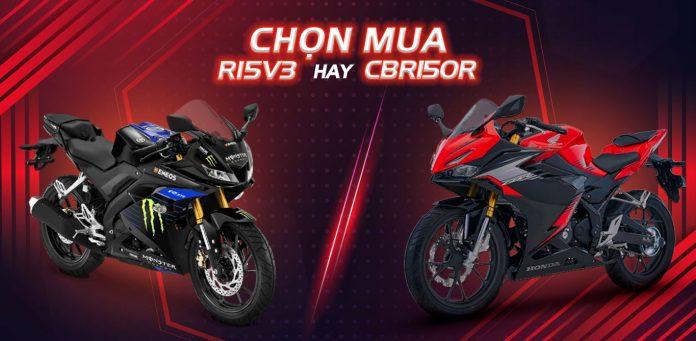So sánh CBR150R và R15V3