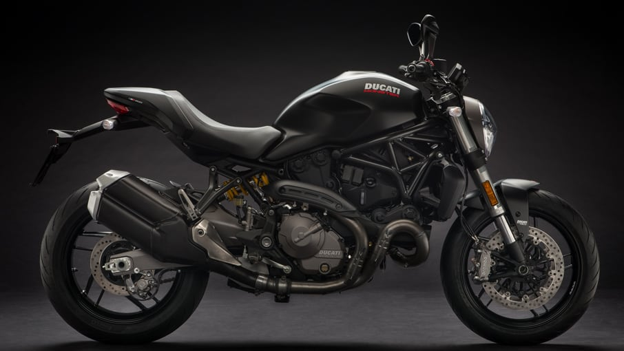 Ducati Moster 821 stealth