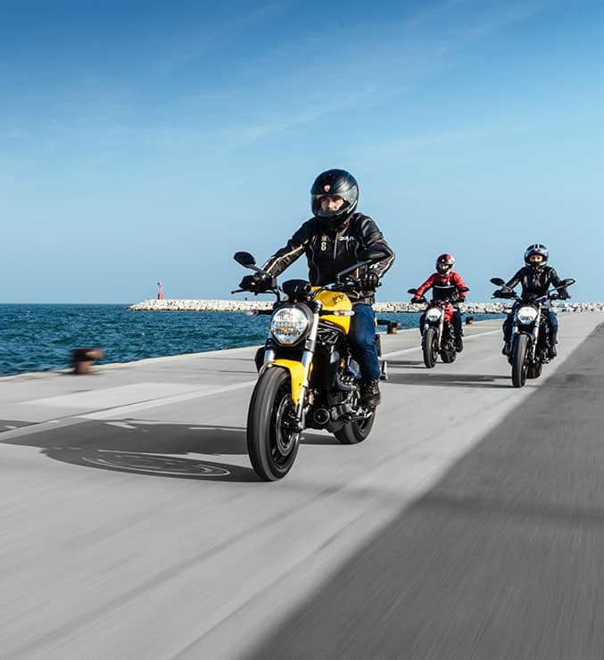 Phuộc xe moto Ducati 821