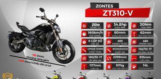 thông số xe Zontes 310V