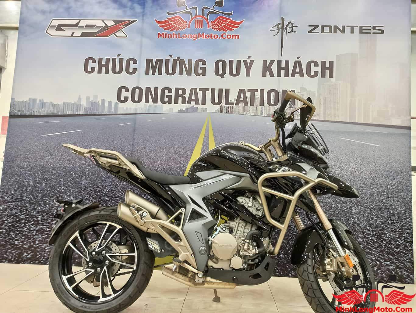 Zontes 310T1 về Minh Long Moto
