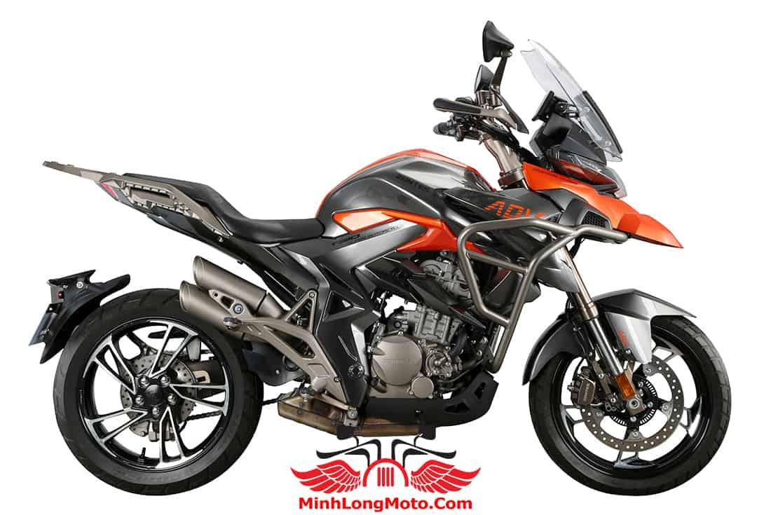 Zontes 310T1 màu cam mâm đen