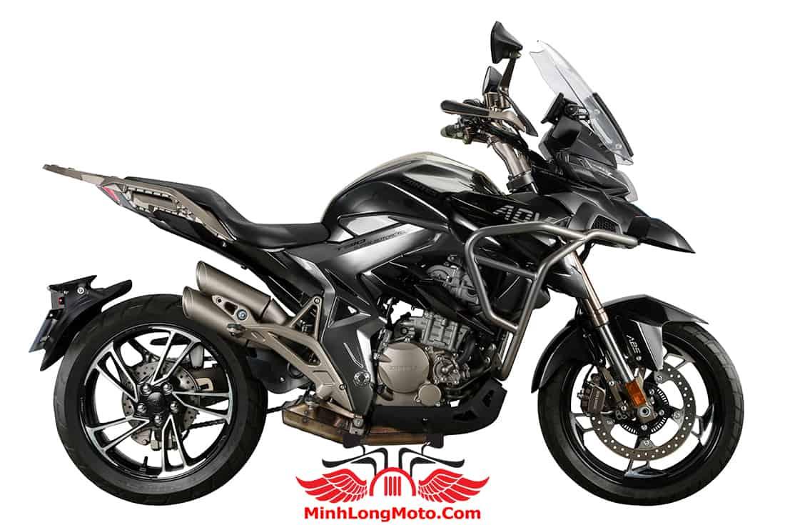 Zontes 310T1 màu đen mâm đen