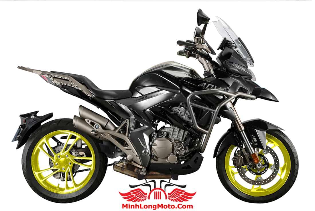 Zontes 310T1 màu đen mâm xanh