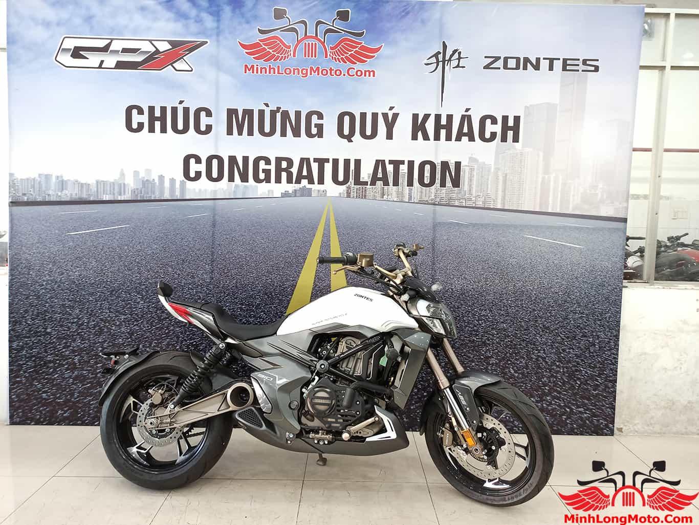 mua xe Zontes 310V tại Minh Long Moto